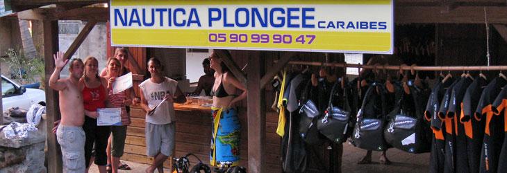 Le club Nautica Plongée Caraibes en Guadeloupe